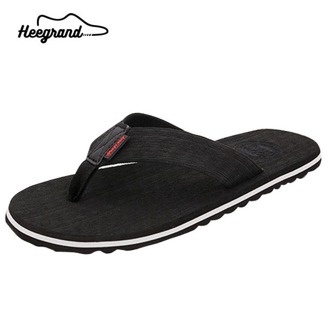 Europe Style 2016 New  Summer Fashion  Slip-on Comfortable High Quality No-slip  Men Beach Shoes Men Casual Flip Flops XMT189