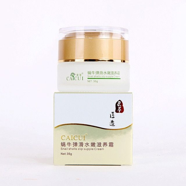 Snail Face Cream Skin Whitening Cream Fade Dark Spots Anti-Aging Anti Wrinkle Advanced Night Repair Day Cream Face Care Beauty