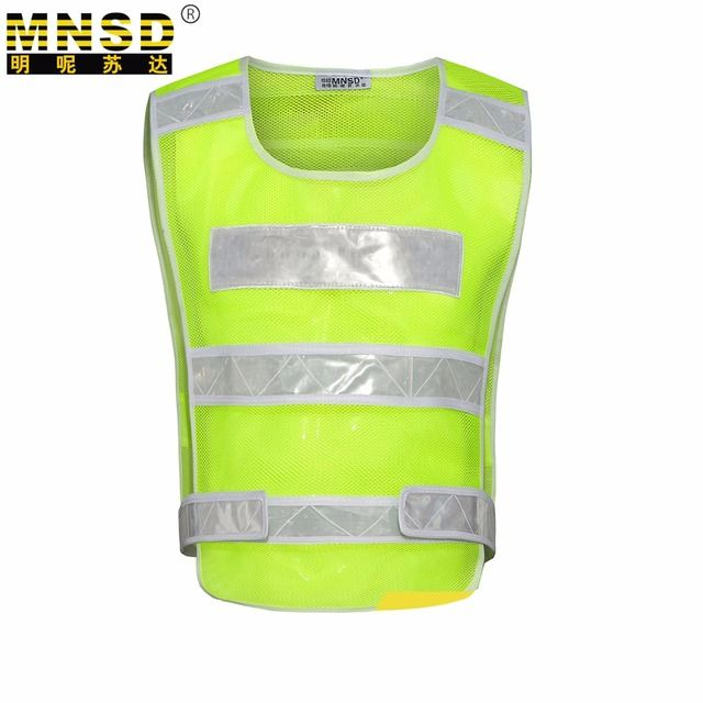 MNSD Thicken Breathable Reflective Safety Vest ,Work Clothes, Tactical Clothing, Traffic Working Vest ,Riding Reflective Vest