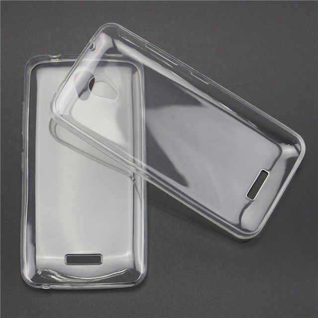 Ultra Thin Transparent Back Cover For Lenovo Vibe A Plus A1010 Aplus VIBE B VibeA A1010a20 A 1010 a20 TPU Soft Silicone Case