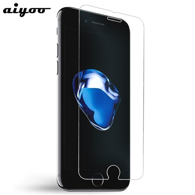 Aiyoo Screen Protector for iPhone 7 Glass Premium 0.26mm 9H Hardness Anti-Scratch Tempered Glass Film for iPhone 7 Coque 4.7inch