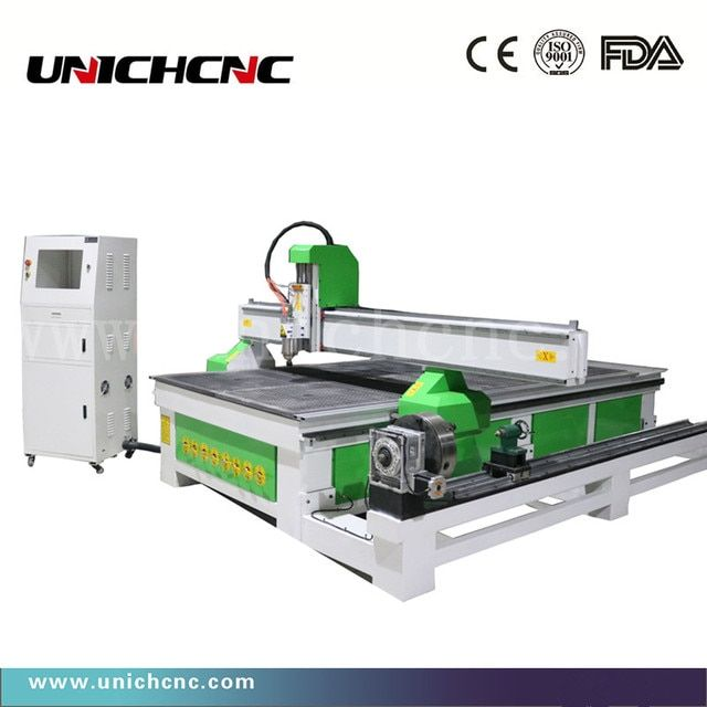 Discount price LXM1530 cnc router & engraving and cutting cnc router rotary side