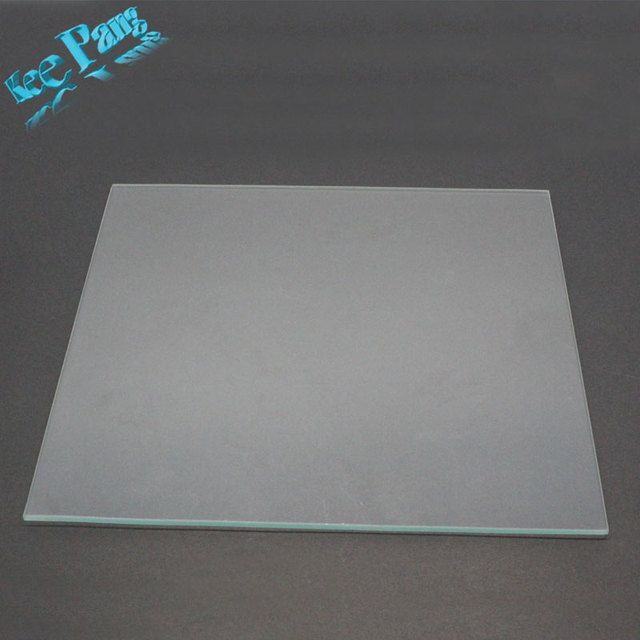 Kee Pang 3D Printer MK2 Heated Bed Borosilicate Glass Plate 213mm*200mm*3mm Tempered 1pc Glass Plate Heatbed For 3D Printer Part