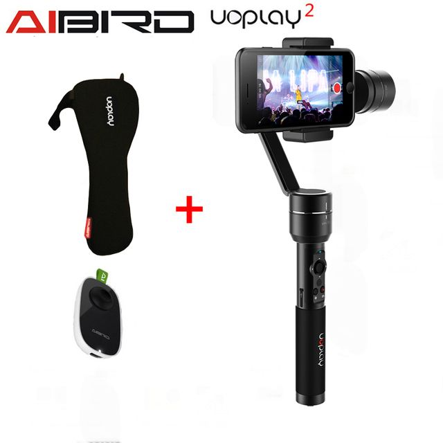 AIbird Uoplay/Uoplay 2  3-Axis Handheld Universal smartphone Gimbal Stabilizer for iPhone Samsung HTC for GoPro 3 4