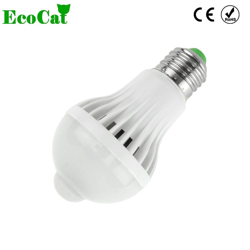 LED Lamp E27 bulb LED 5W 7W 9W 220V PIR Motion Sensor LED Bulb Lights Auto Smart Control Led Bulbs Home Lighting