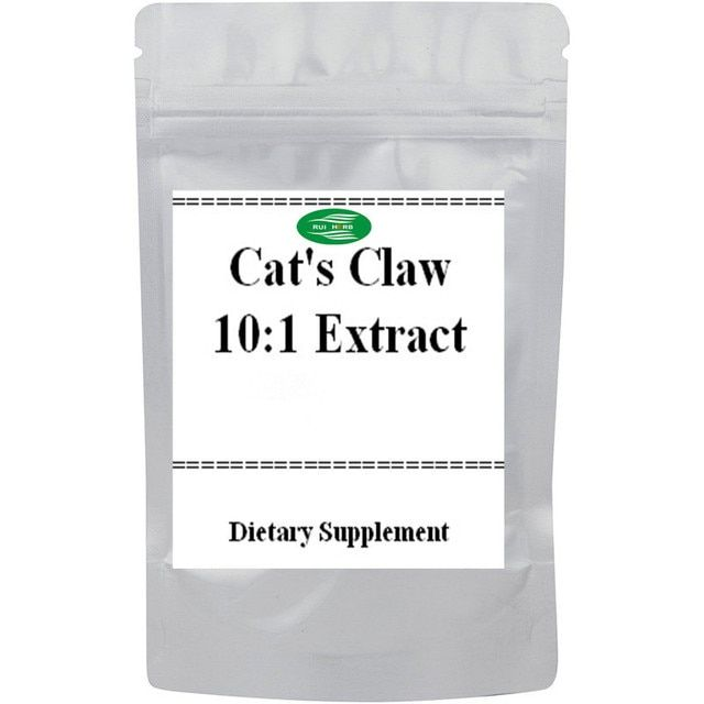 Nature Cat's Claw Extract 10:1 Powder  free shipping