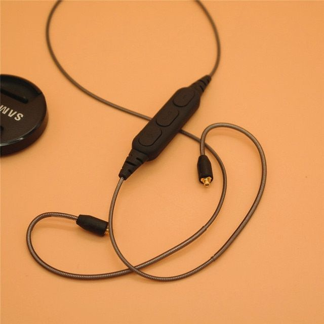 Bluetooth sports headphone wire DIY pluggable Bluetooth earphone wire