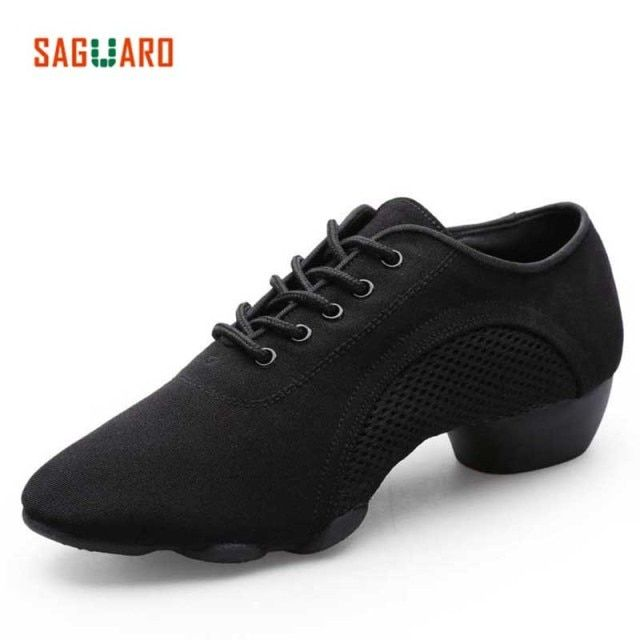 SAGUARO Professional Dance Shoes Women Men Adults Latin Jazz Modern Dance Shoes Ladies Aerobics Sneakers Ballroom Teacher Shoes