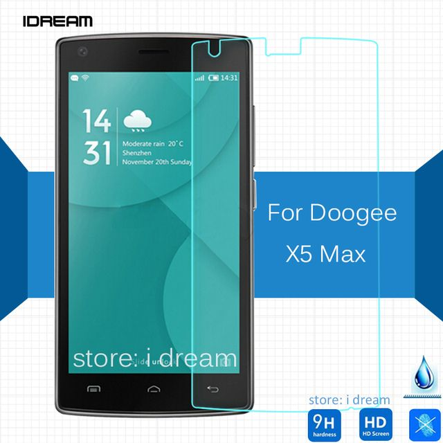For Doogee X5 MAX tempered glass film 0.26mm 2.5 9h Safety Protective screen protector on dooge DG X 5 MAX pelicula de vidro