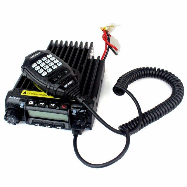 Retevis RT9000D Mobile Radio VHF 220-260MHz 60W 200CH 50 CTCSS/1024 DCS 8 Scrambler Scan Mobile Car Ham Radio Transceiver A9100B