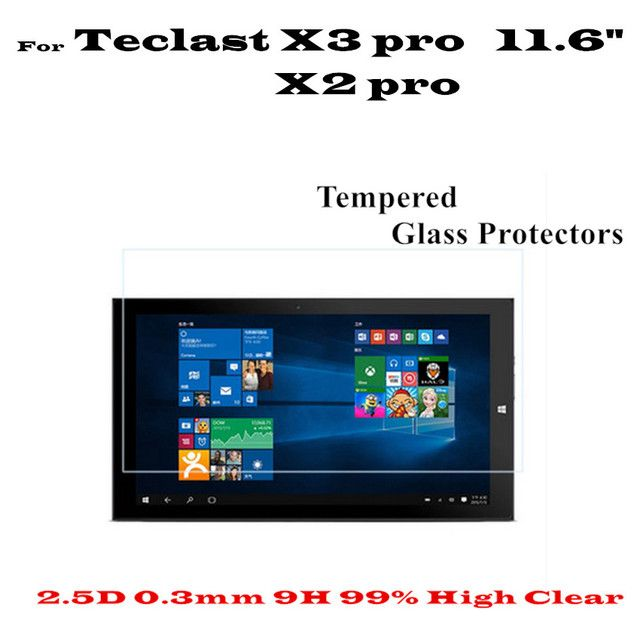 11.6 inch High Clear X3 pro Glass Screen protectors For Teclast X2 Pro X3 Pro tempered glass screen Protector