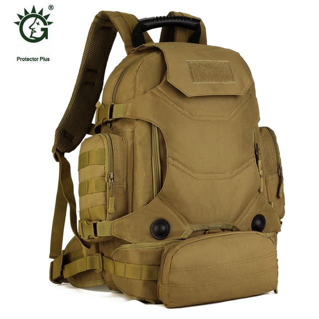 Outdoor Military Molle Tactical Backpack 40L Pouch Bag For Sports Travel Rucksack Mochila Camping Hiking Backpacks Bags