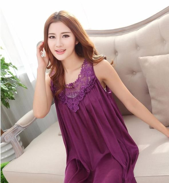 2018 winter nightgown silk lace pijama women nightwear girls sleepwear lingerie casual robe night dress home clothing