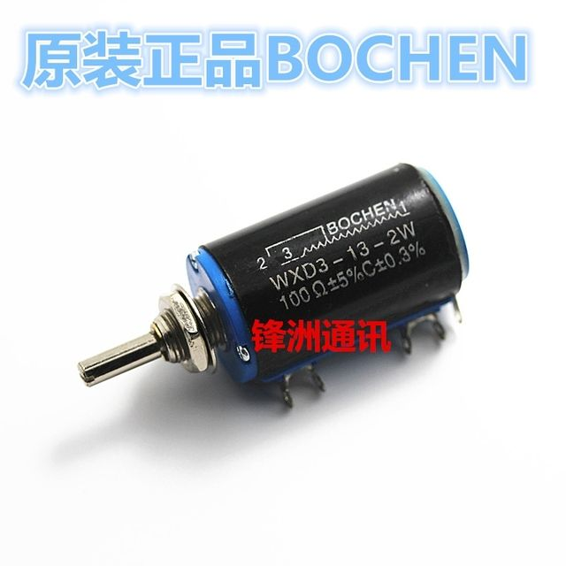 High quality WXD3-13-2W 100R precise multi turn potentiometer sliding rheostat 100 ohm