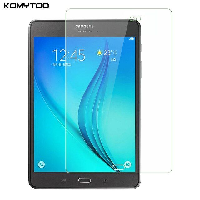 "9H 2.5D Explosion-Proof Toughened Tempered Glass For Samsung Galaxy Tab A T550 T551 T555 9.7"" Film Clear Screen Protect Cover"