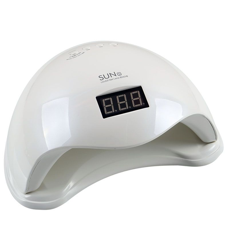 SUN5 Plug 48W Double light UV LED Nail Lamp for Nail Dryer Gel Polish Curing Light with Bottom 30s/60s/99s Timer LCD display