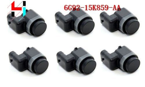 6PCS Parking Sensor PDC For Ford Mondeo S-MAX 06-2011 6G92-15K859-AA 6G92-15K859-EC 6G9215K859EC
