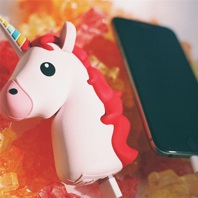 2600mah Unicorn Power Bank Cute Emoji Power Bank Charger For Iphone7 7plus 6 6plus Xiaomi LG Emoji Powerbank Charger Battery