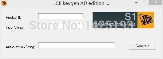 JCB service manuals keygen