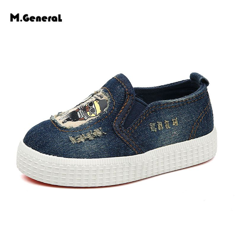 M.GENERAL Newborn Baby Shoes Spring Autumn Boys Girls Shoes Sports Sneakers Soft Soled Anti-slip Shoes #BBX018
