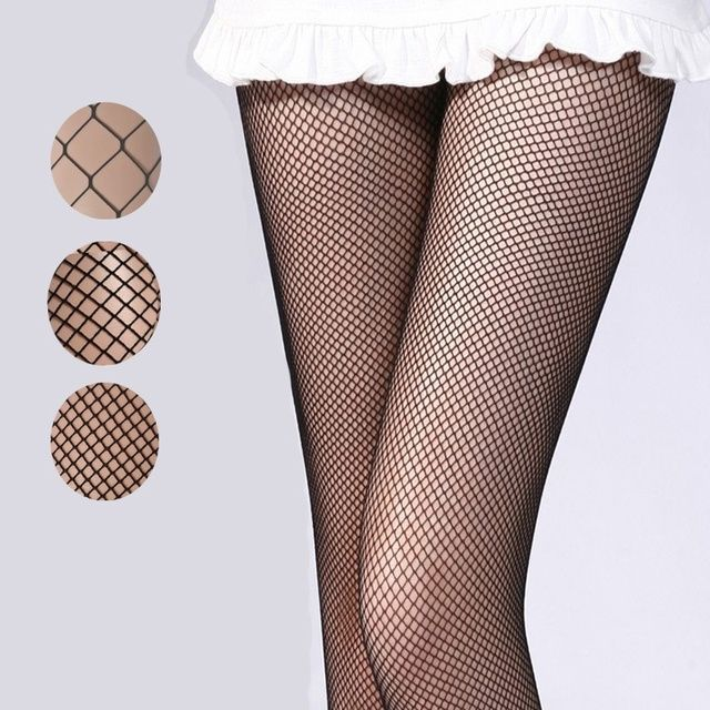 NEW Women Sexy Fishnet Stockings Net Pantyhose Ladies Mesh Lingerie Thigh High Stockings for Female