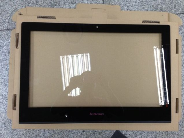"100% new original 23.0"" inch All-in-one outside the glass screen For lenovoe B520 B520E B520R2 B540 B545 B540P front frame glass"