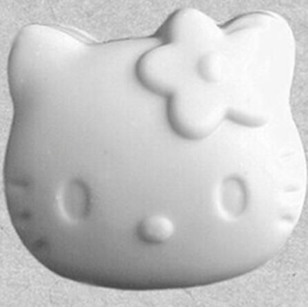 kitty cat head shape Silicone soap mould fondant cake chocolate mold handmade clay resin craft mold