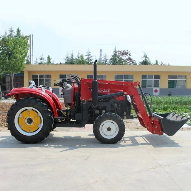 35HP Tractor Four Wheel 4*4 With Front Forklift Multi-Purpose Agricultural Machinery