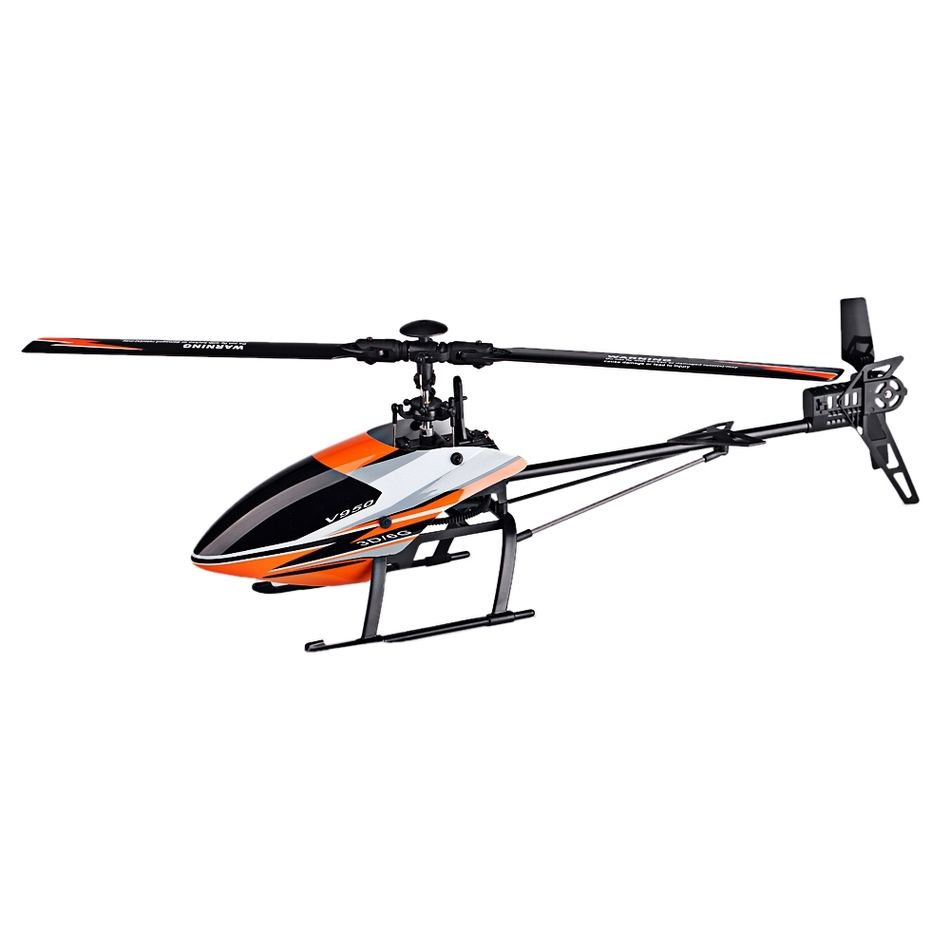WLtoys V950 Big Helicopter with Brushless motor 2.4G 6CH 3D6G System Brushless Flybarless RC Helicopter RTF Remote Control Toys