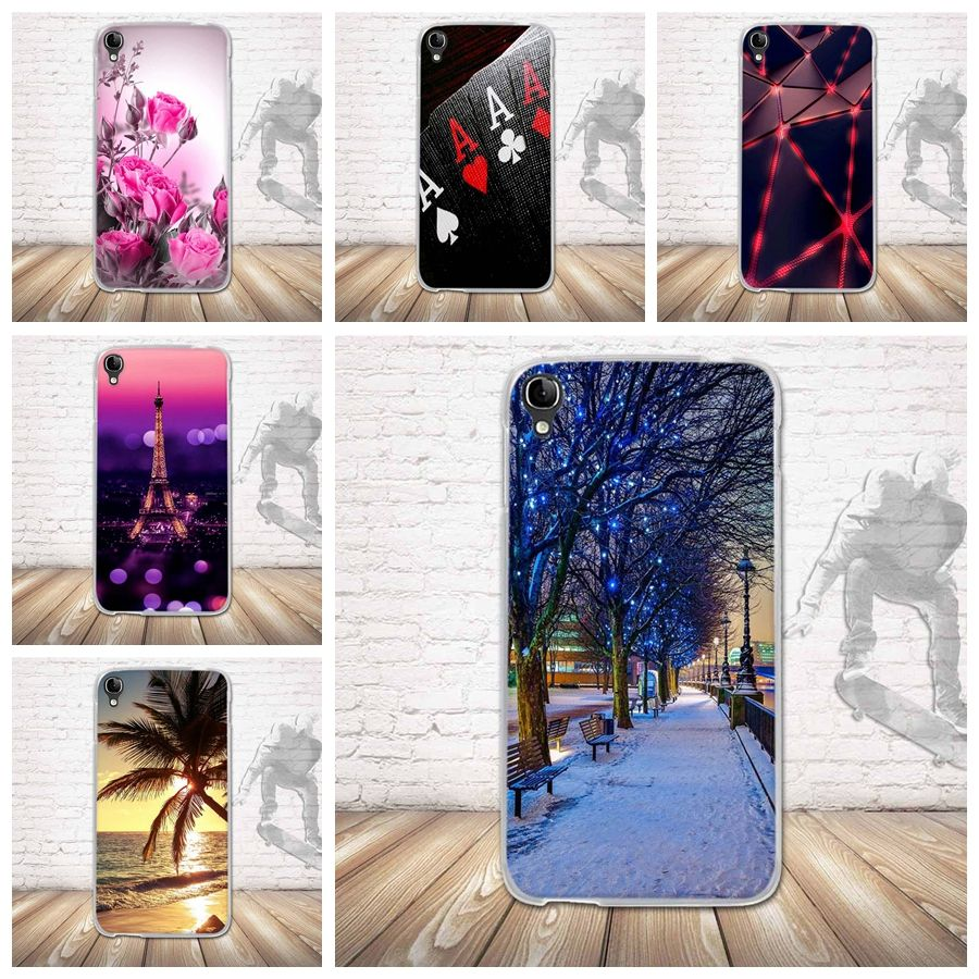 for Alcatel One Touch Idol 3 5.5 inch OT-6045 OT6045 6045Y 6045K Case Cover Soft TPU Silicon Phone Case Back Cover 3D Printing