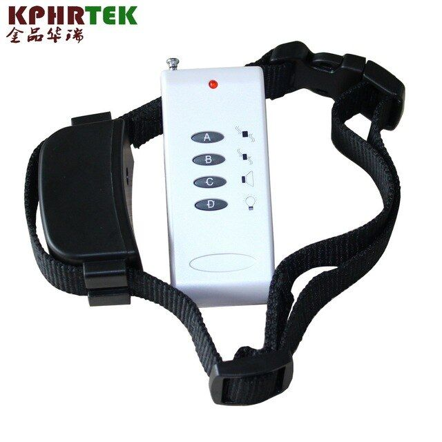 Dog Training Collar Vibration Anti Bark 100 Meter Range Remote
