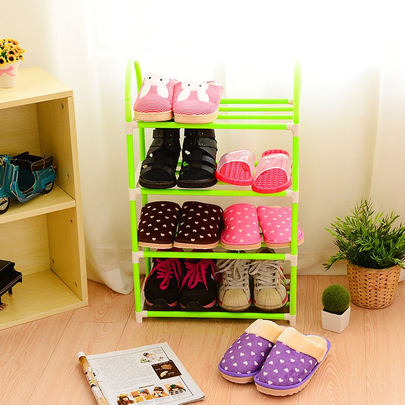 New shoe racks Creative assembly multilayer shoe racks  dustproof shoe ark contracted and contemporary shoe rack