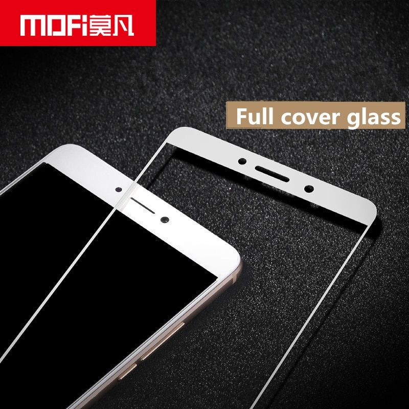 for Huawei honor 6x glass tempered MOFi Mate 9 Lite screen protector film full cover white black for Huawei GR5 2017 glass