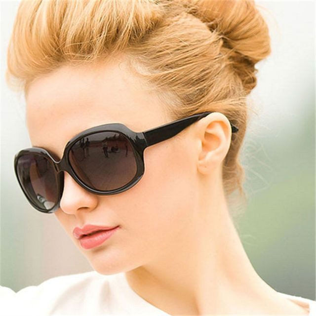 Luxury 5 Colors Oversized Frame Round Sunglasses Women Brand Mirrored Medusa Female Sun Glasses Feminine Vintage Women's Glasses