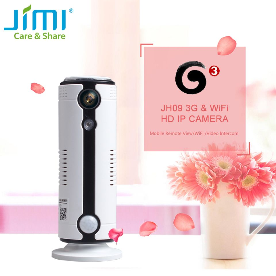 Jimi JH09 3G Surveillance Camera Wi-Fi Wireless Home Security CCTV Camera System Home Security  IP Camera Indoor Baby Monitor