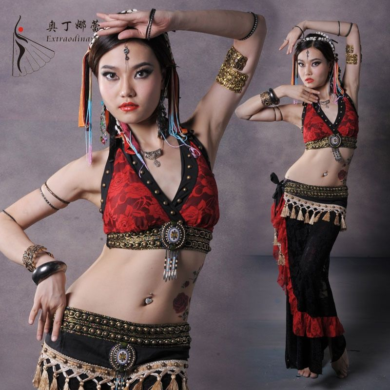 Belly Dance Costume Professional Dance Cloth Belly Dance Tribe Costumes Clothing Set Costumes for Belly Dancing