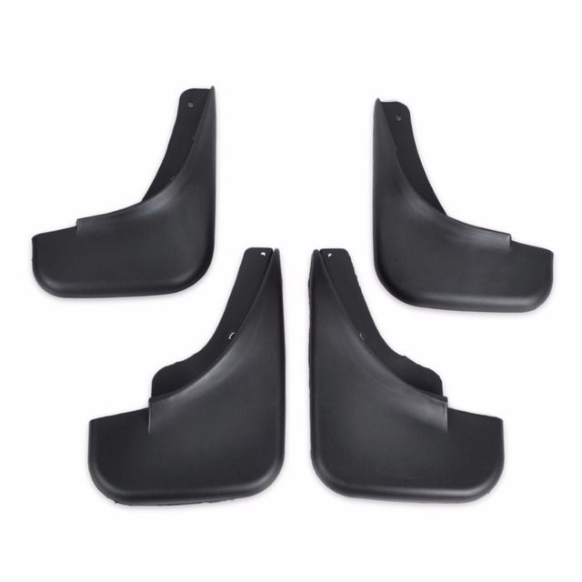 DWCX Mud Flaps Splash Guard Mudguard Mudflaps Fenders Perfector 4PCS For 1999 2000 2001 2002 2003 2004 VW JETTA BORA Golf Black