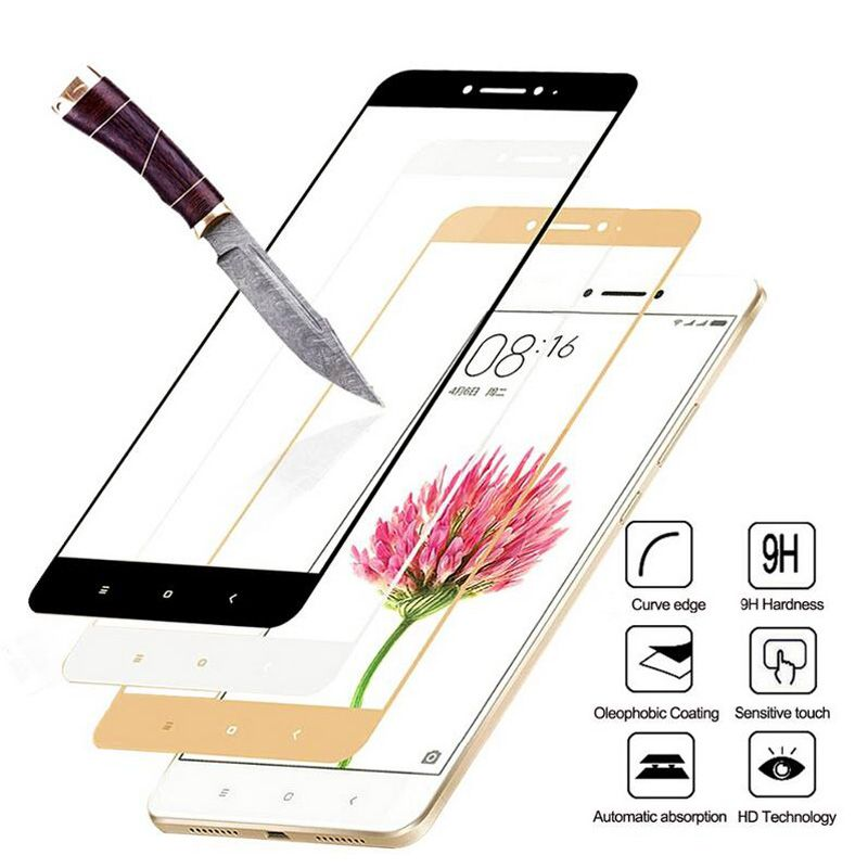 GerTong Full Cover Tempered Glass For Xiaomi Redmi 4A 4X 5 5A 4 Pro 4 Prime Note 4 Pro Note 4X Screen Protector Film
