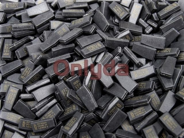 free  shipping  original 7936 (ID46) transpinder chip  Transponder chip Ceramic PCF7936AA  Carbon Chip 60pcs/lot