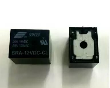 SRA-12VDC-CL SRA-12VDC 12V 20A 10PCS/LOT RELAY Free Shipping