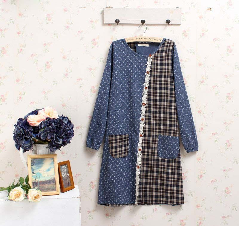retro tunique femme rockabilly jurken cotton ropa mujer kawaii roupas feminina linen robes fall autumn robe retro vintage dress