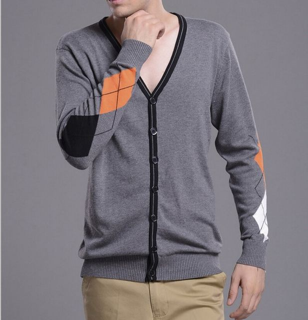 2015 new mens sweaters. spring and autumn   v-neck sweater  cardigan men.high quality and fashion Sweater men,free shipping