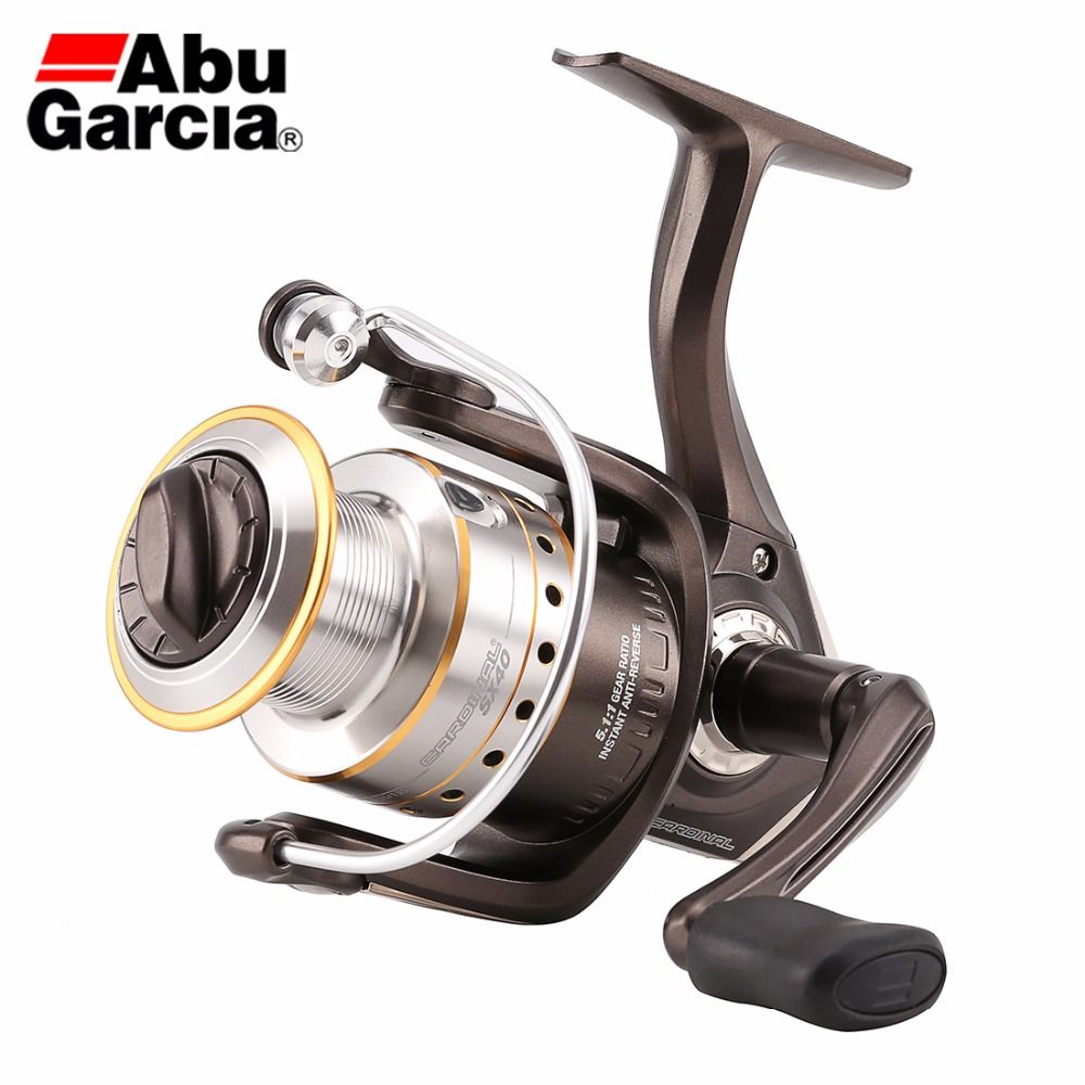 Abu Garcia CARDINAL Card SX 1000-4000 Series Spinning Fishing Reel 6BB 5.2:1 Machined Aluminum Spool Freshwater Fishing Reel