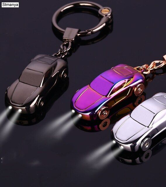 Car Keychain - Best Gift Men's Metal high quality Keychain Key Holder Zinc Alloy Pendant Couple Key Chain 17385