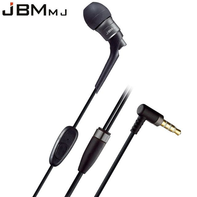 High Fidelity Piston In-Ear Earphone Super Stereo Bass Earphones With Mic MJ6600 3 Color for iphone for Samsung for xiaomi