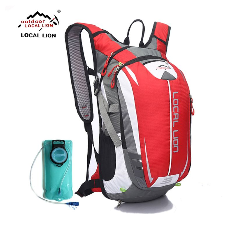 LOCALLION Brand Cycling Backpack MTB 18L Bicycle Bag Outdoors Sport Backpacks Bike Bicycle Cycling Bag Riding Backpack+water bag