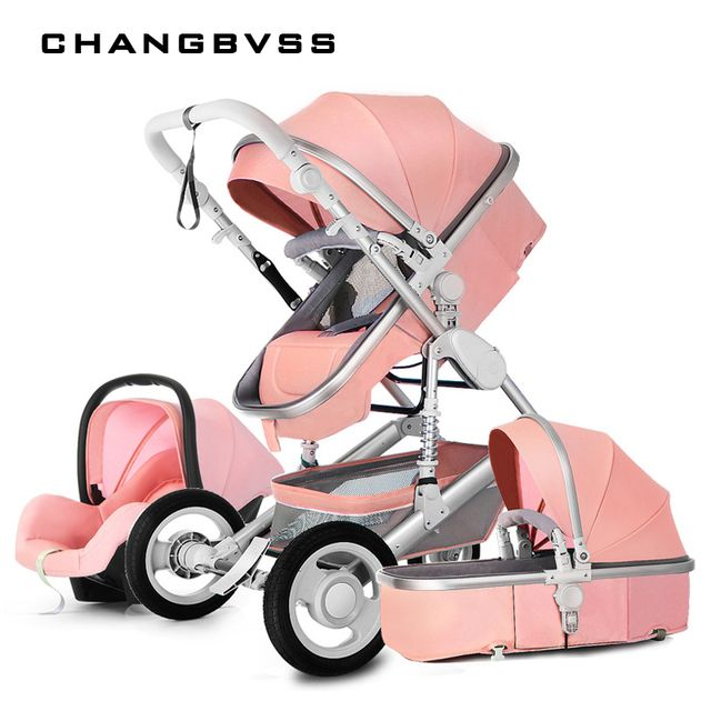 Suspension Shadow Easy Folding Baby Stroller Prams Pushchair,Lightweight High Landscape Baby Carriage,Luxury Strollers,poussette