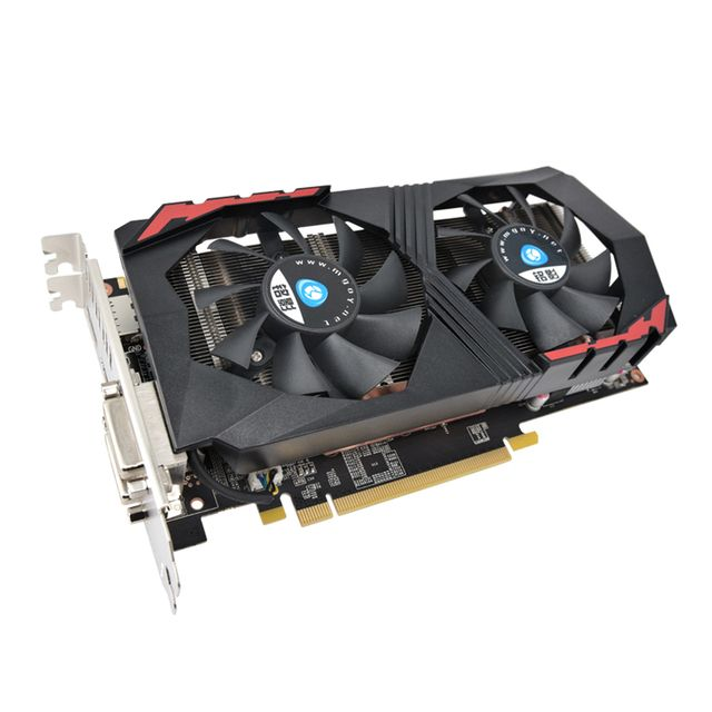 Mars series high-end GTX760 gaming video card Nvidia GTX760 2G DDR5 gaming graphics card DirectX12 1334SP dual 6pin power ports