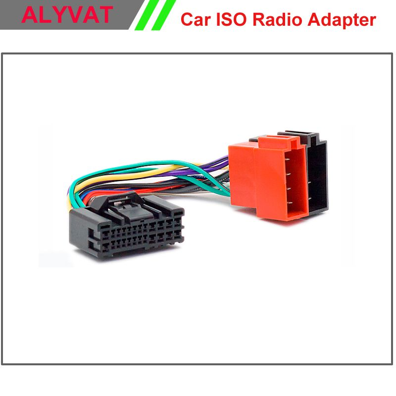 Car ISO Stereo Adapter Connector For Hyundai 2005 onwards Kia 2005 onwards Wiring Harness Auto Radio Adaptor Cable Plug Wire