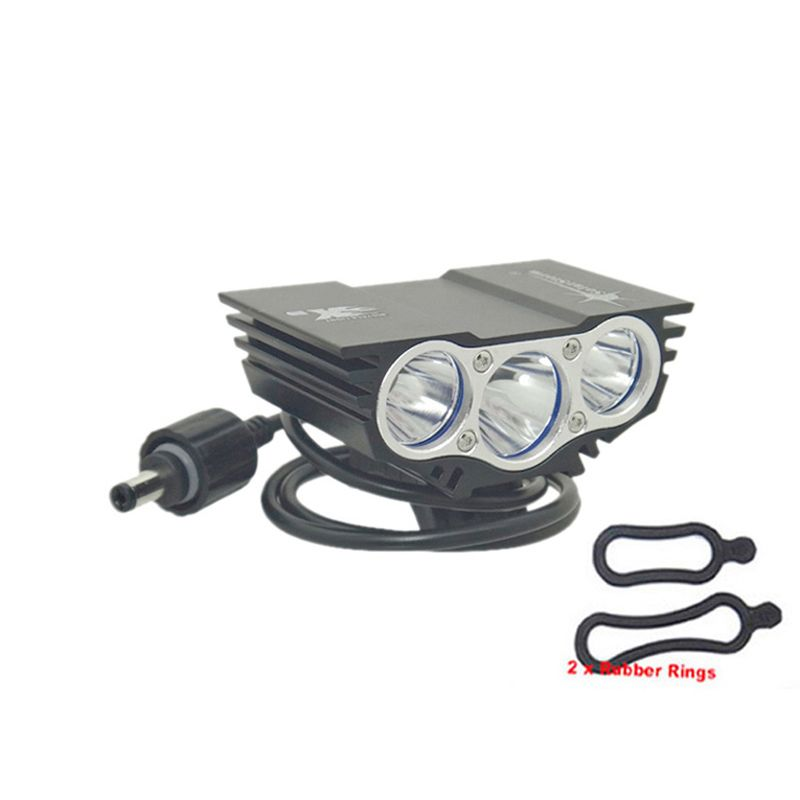 SolarStorm X3 T6 Head lights bike light 6000 lm XM-L 3T6 LED 4 Modes Bicycle light Front lamp